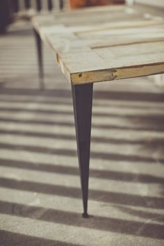 Tapered Angle Iron Table Legs, I will be getting these for a dinning table
