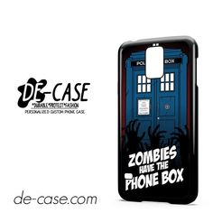 Zombie Have The Phone Box Tardis DEAL-12224 Samsung Phonecase Cover For Samsung Galaxy S5 / S5 Mini
