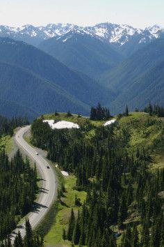 Washington - 1 of America's best scenic drives