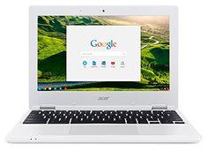 "Acer Chromebook CB3-131-C3US 113 11"" Blanc (Intel Celeron, 2 Go de RAM, Mémoire 32 Go, Chrome OS) - http://laptopspirit.info/acer-chromebook-cb3-131-c3us-113-11-blanc-intel-celeron-2-go-de-ram-memoire-32-go-chrome-os-2/"