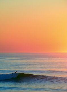 sunrise + beach = love