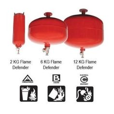 Flame Defender Extinguisher 2kg by Flame Defender. Save 9 Off!. $40.89. Flame Defender Fire Extinguishers 26.4lbs/12kg. There are many electrical devices in today's indoor growing environments. Power strips, CO2 generators, heat mats, lights, light movers, reservoir heaters, fans, pumps, etc., can malfunction and cause a fire. Protect yourself, your growing environment and your home. Install a Flame Defender™ today! ABC - This is the multipurpose dry chemical extinguisher. Th...