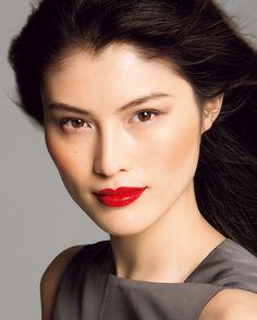 Shiseido Fall 2013 Makeup Collection Look2 Shiseido Fall Winter 2013 Makeup Collection   Info & Promo Photos