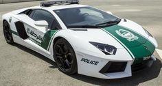 Lamborghini Aventador Police Car - Only in #Dubai
