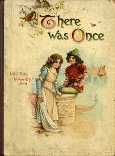 """Frances Brundage (1854–1937) There was once....Father Tuck's """"Golden Gift"""" Series..."""