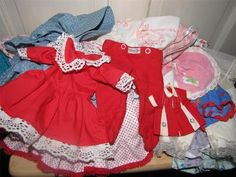 Old Doll Clothes....