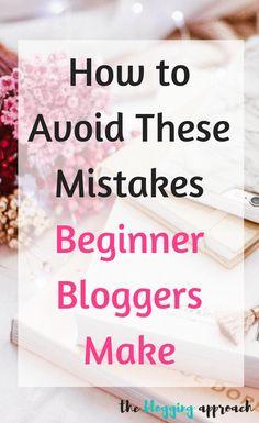 Avoid making these 15 mistakes beginner bloggers make Make Money Blogging, Make Money Online, How To Make Money, Blog Topics, Blogger Tips, Blogging For Beginners, Mistakes, How To Start A Blog, Tools