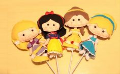Princesas disney Www.virtuosaartesanato.com.br