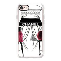 Chanel Paris store 2 - iPhone 7 Case, iPhone 7 Plus Case, iPhone 7... ($40) ❤ liked on Polyvore featuring accessories, tech accessories, iphone case, iphone cases, apple iphone cases, slim iphone case and iphone cover case