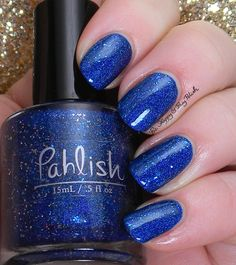 Pahlish Snow Over the Rhone | Be Happy And Buy Polish http://behappyandbuypolish.com/2015/03/05/pahlish-snow-over-the-rhone-swatches-review/