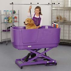 Master Equipment PolyPro Lift Grooming Tubs