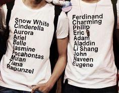 couple shirts | Disney couple- T-Shirts | Outfits.