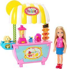 Chelsea Barbie Little Sister Lemonade Stand Summer Fun Dolls Playset Barbie Chelsea Doll, Barbie Doll Set, Doll Clothes Barbie, Barbie Doll House, Barbie Dream, Doll Toys, Barbies Dolls, Barbie Barbie, Toys For Girls