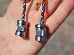 Beglery metallic evening bead fidget toy backpack 550 paracord anxiety aroundsquare desk toys evenos begleri fathers day gift fiddle toy edc
