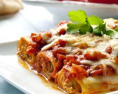 Recette Cannelloni : Cannelloni bolognaise, un classique de la cuisine italienne, des pâtes avec une sauce tomate à base de viande hachée.