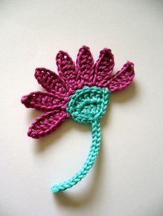 58 Besten Crochet Flowerhäkel Blumen Bilder Auf Pinterest