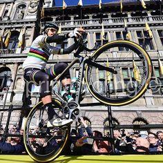 Peter Sagan start RVV 2017 Antwerp @bettiniphoto