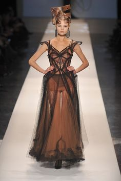 Jean Paul Gaultier Spring 2009 Couture Collection - Vogue