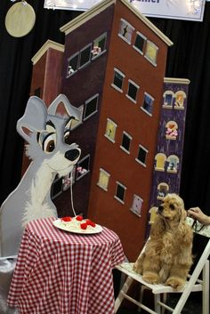Lady and the Tramp reincarnated at AKC Meet the Breeds.