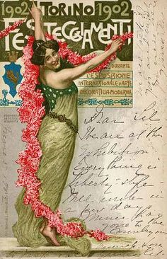 1902 ITALIAN POSTCARD | Flickr - Photo Sharing!