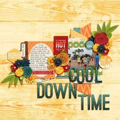 Cool Down Time - MouseScrappers - Disney Scrapbooking Gallery Summertime Blues Bundle http://www.sweetshoppedesigns.com/sweetshoppe/product.php?productid=34378&cat=823&page=3 by Traci Reed and Kristin Cronin-Barrow Always Be Yourself by Two Tiny Turtles