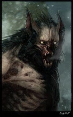 Corps Werewolf by JSMarantz.deviantart.com on @deviantART