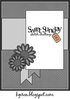 Sweet Sunday Sketch Challenge 161