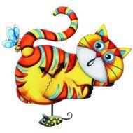 Ganz Gala Cat Wall Clock Click to see more cat gift ideas: http://www.catthemedgifts.com  #catclocks #catthemedgifts #catchristmasgifts