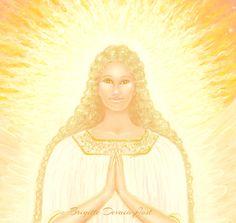 Brigitte Devaia Jost Engel of prayer Angel of Prayers Neck