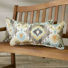 Found it at Wayfair - Indoor/Outdoor Lumbar Pillow