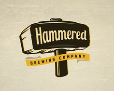 32 Creative Hammer Logo Design for Inspiration - http://smashfreakz.com/2016/06/hammer-logo-design-inspiration/