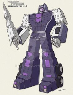 Combiner Wars Motormaster - sunbow style by GuidoGuidi on DeviantArt Transformers Decepticons, Transformers Characters, Transformers Prime, Gi Joe, Beast Machines, All Godzilla Monsters, Big Robots, Revenge Of The Fallen, Last Knights