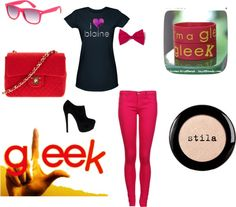 """""""glee/blaine anderson"""" by onedirection-littlethings ❤ liked on Polyvore"""