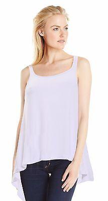 Women's Sleeveless Tunic Tank Top with Flare Hem / Handkerchief Hem Tunic Top