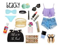 """""""Beachy set"""" by ellabella030mg ❤ liked on Polyvore"""