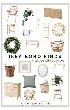 BOHO IKEA FINDS YOU WILL LOVE #boho #ikea #living #room #bohoikealivingroom What I really enjoy with IKEA, is that they over the last years has really stepped up their game when it comes to some of the new design trends, but also staying true to their Scandinavian heritage. There are so many finds at IKEA, but recently have they really stepped up their game when it...Read the Post Boho Room, Boho Living Room, Home And Living, Living Room Decor, Room Ideas Bedroom, Home Decor Bedroom, Ikea Boho Bedroom, My New Room, Room Inspiration