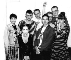 Adorable little Eddie and the Sugarcubes (with Bjork)