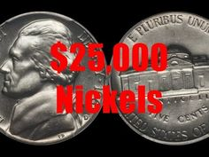 Top 5 Jefferson Nickels Worth Over $25,000 - YouTube