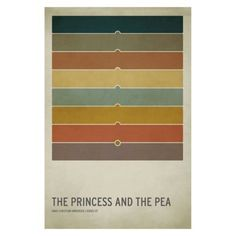 The Princess and Pea Unframed Wall Canvas  Christian Jackson