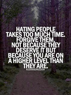 Wayy too many I can think of that need to remember this daily... If you are a true Christian you know this and have a constant forgiveness for those that have wronged you!