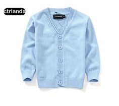 >> Click to Buy << 7colors fashion Kids cardigan coat student boy sweaters candy color 100% cotton Baby Boys girls single-breast jackets outerwear #Affiliate