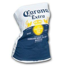 Corona Women's Tube Top - Great for summer! #summertime #corona #tubetop