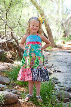 Adele Dress. $46.00, via Etsy.  sizes 12 mths - 6 years
