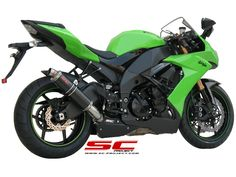 SC-Project GP-Line Exhaust : Kawasaki Street legal version according to Zx 10r, Exhausted, Projects, Log Projects