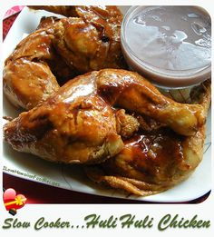 Huli Huli Chicken Slow Cooker - ILoveHawaiianFoodRecipes