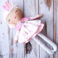 SpunCandy Handmade Doll
