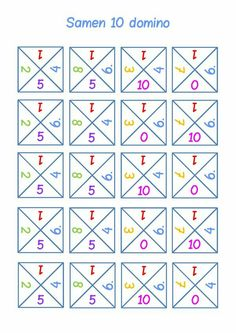 verliefde harten: Samen 10 domino #splitsen
