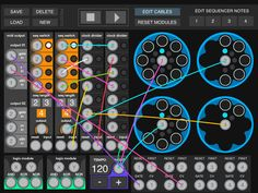 Spectre Modular Midi Sequencer For iOS By Anthony Henderson