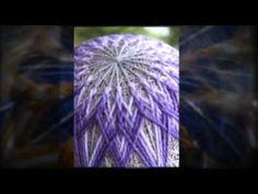 Fine Art Temari Balls - YouTube