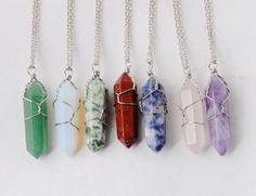 Cradled Crystal Necklace